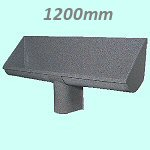 Uridan Waterless CREWTROUGH Urinal 1200mm - GRP